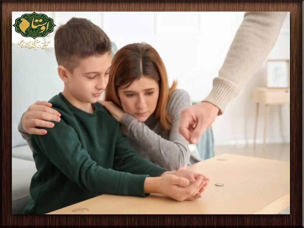 با چه شرایطی میشود نفقه خود را از پدر شوهر گرفت؟